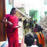 Door to door outreach in Chennai