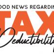 Good News Regarding Tax Deductibility